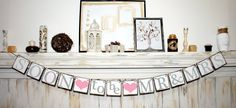 SOON to be MR  MRS Banner - Bridal Shower Banner - Wedding Banners - Banners Engagement Party Decoration - Photo Prop