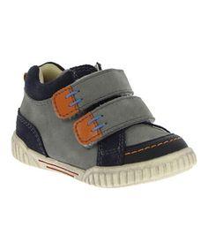 Look at this #zulilyfind! Umi Dark Gray Julius Leather Sneaker by Umi #zulilyfinds