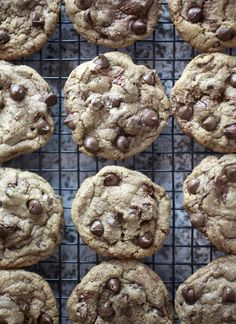 Nutella Chocolate Chip Cookies - W = these cookies are SO good! I've made them twice now, just in this past week!