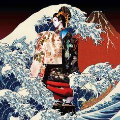 ringo in TW Shiina Ringo, Grafic Art, Traditional Kimono, Summer Kimono, Favorite Person, My Images, Music Artists, Album Covers, Rock And Roll