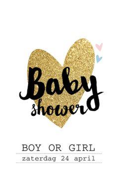 lovz.nl   babyshower uitnodigingskaart   zelf maken
