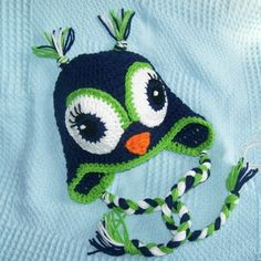 Girl owl hat!  Love.