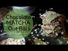 These antioxidant rich, high fibre Cacao Matcha Oat Bars are vegan, gluten free and oil free. Easy to make and ridiculously tasty! Don't worry, 'match...
