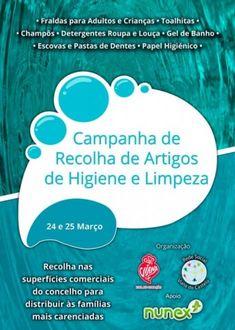 Notícias | Rede Social de Viana do Castelo promove sétima edição da campanha de recolha de artigos de higiene - Câmara Municipal de Viana do Castelo