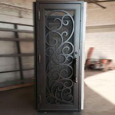 Florentine Exclusive Hd Security Screen Door First Impression Ironworks Security Screen Door Metal Screen Doors Screen Door