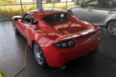 2010 TESLA ROADSTER SPORT Tesla Roadster Sport, Barrett Jackson Auction, Collector Cars, Electric Cars, Vehicles, Sports, Hs Sports, Car, Sport