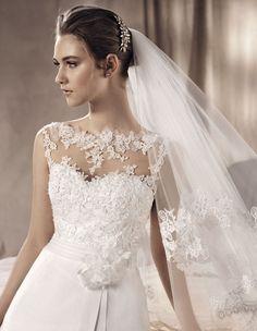 wedding dress yamileth