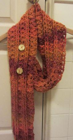 fall+crochet | Crochet Pattern Autumn Leaves Fall Winter Scarf by APieceOfCrochet, $1 ...