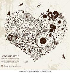 stock vector : love