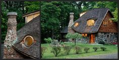 Curious Places: Storybook Cottage (Rhinebeck/ New York)