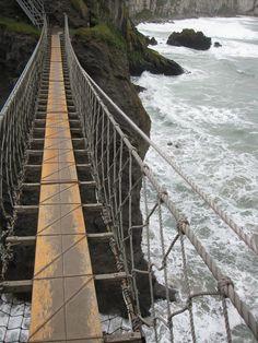 Carrick-A-Reed rope bridge