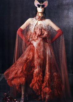 Laura Kampman in Alexander McQueen| Steven Meisel | Vogue Italia 02/12
