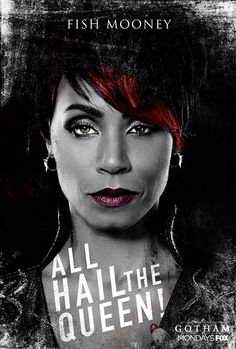 Gotham Fish Mooney Poster on Behance Gotham Girls, Gotham Batman, Batman Art, Batman Robin, Gotham Tv Series, Gotham Cast, Dc Comics, Batman Comics, Batman Origins