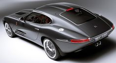 http://www.lyonheart.com/ Yessir, it's a modern take on the E-Type Jag. Check out the website, it's mega-sweet.