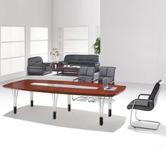 Modern Steel Frame Support Persons Conference Table Hot Sale - 6 person conference table
