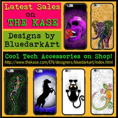 ★ Latest #Sales on #TheKase ★ by #BluedarkArt #Designer ★ Thanks!    https://bluedarkart.wordpress.com/2016/02/10/latest-sales-on-thekase-by-bluedarkart-designer-thanks/