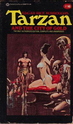Edgar Rice Burroughs: Tarzan and the city of gold. Ballantine Books 1984 (9th printing). Cover art by Neal Adams.