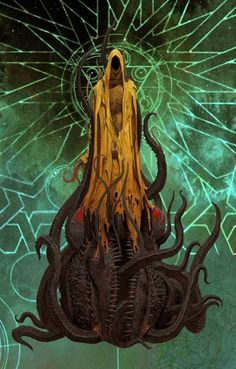 Adrian Smith artwork for Cthulhu, Death may die by Guillotine Games. Cthulhu Art, Call Of Cthulhu Rpg, Lovecraft Cthulhu, Cthulhu Tattoo, Hp Lovecraft Necronomicon, Arte Horror, Horror Art, Lovecraftian Horror, Eldritch Horror