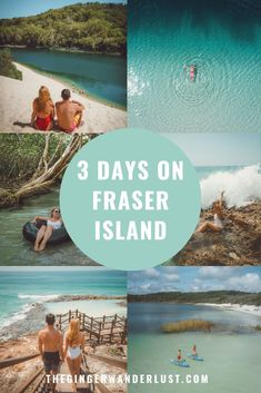 A detailed guide to a 3 day tour on Fraser Island, all the top things to do to experience the biggest sand island in the world. Make sure you add Fraser Island to your Australia bucket list! Brisbane, Melbourne, Sydney, Lanai Island, Island Beach, Visit Australia, Australia Travel, Queensland Australia, South Australia