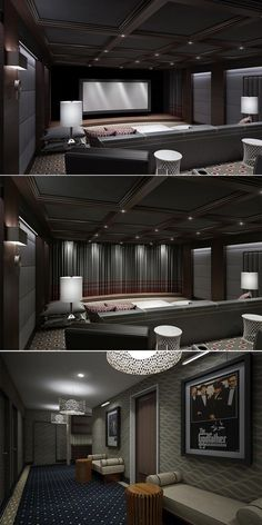 Unbelievable Luxury Home Cinema Interior Design By Clark Gaynor Interiors  The Post Luxury Home Cinema Interior Design By Clark Gaynor Interiorsu2026  Appeared ...