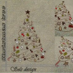 Christmas cross stitch pattern            kit