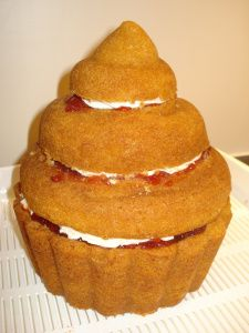 Torted Giant Cupcake