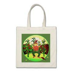 Sunrise Scarecrow tote bag - accessories accessory gift idea stylish unique custom