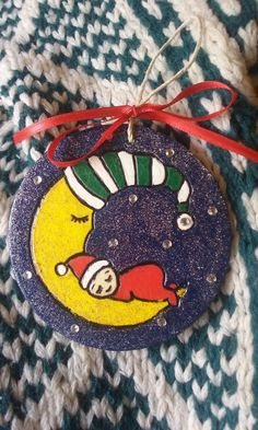 2016 Baby Holiday Christmas Ornament by IrieSoulCreations on Etsy