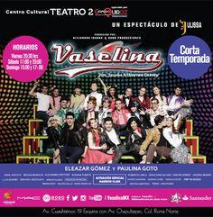Cartelera de Vaselina en el Centro Cultural Teatro II. Alejandro Speitzer como Kiko. #AlejandroSpeitzer #AlexSpeitzer #actor #Kiko #Vaselina #Mexico #teatro #Musical #obra #cartelera
