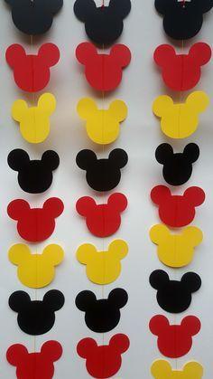 Ideas craft birthday party ideas mickey mouse for 2019 Mickey Mouse Birthday Decorations, Mickey Mouse Party Decorations, Mickey Mouse Crafts, Theme Mickey, Mickey 1st Birthdays, Fiesta Mickey Mouse, Mickey Mouse First Birthday, Mickey Mouse Baby Shower, Mickey Mouse Clubhouse Birthday Party