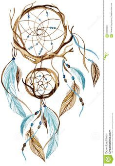 watercolor dreamcatcher - Google Search