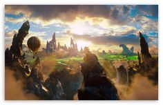Oz The Great and Powerful Concept Art HD desktop wallpaper ...
