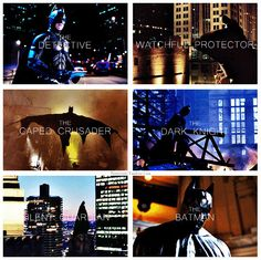 The many different faces of The Batman