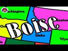 the USA: States and Capitals Rap - Watch and rap! - USA:n osavaltiot ja niiden pääkaupungit - Katso ja räppää!