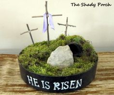 The Shady Porch: Resurrecting Easter Projects