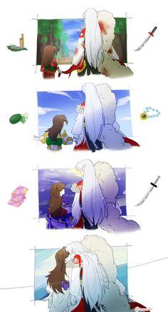 Manga Anime, Anime Nerd, Anime Couples Manga, Inuyasha And Sesshomaru, Inuyasha Fan Art, Animes Yandere, Fanarts Anime, Wallpaper Animes, Animes Wallpapers