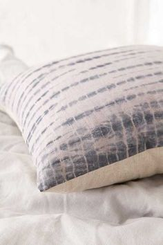 Magical Thinking Shibori Streak Pillow