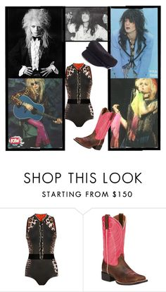 """""""H: Hanoi Rocks"""" by i-love-it-loud ❤ liked on Polyvore featuring Ariat and NLY Accessories"""