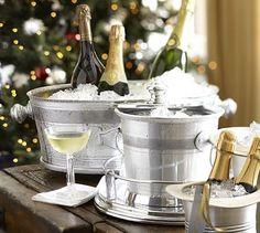 Serve the champagne.