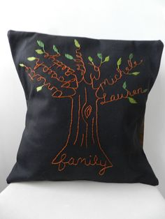 Hey, I found this really awesome Etsy listing at http://www.etsy.com/listing/89386857/family-tree-personalized-pillow-cover