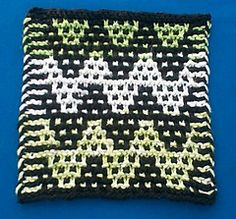 Mosaic Chevron Dishcloth