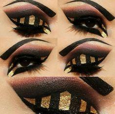 glitter goth makeup - Google-søgning