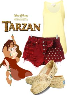 """""""Jane Porter"""" by disneywithalicia ❤ liked on Polyvore"""