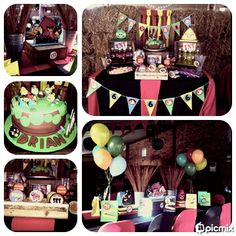 Angry Birds Themed Kids Party & candy Buffet by Voila Functions  www.facebook.com/voilafunctions