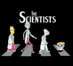 Rick and Morty x The Scientists
