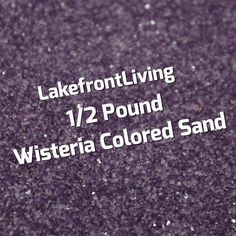 Items similar to Wisteria Colored Sand for Wedding Unity Sand - Purple Colored Sand for Craft Projects, Kids Play or Fairy Garden - Pound on Etsy Unity Sand, Colored Sand, Wisteria, Kids Playing, Craft Projects, Bouquet, Purple, Handmade Gifts, Crafts