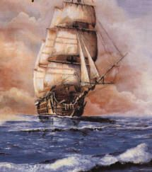 Sailing Ship Paintings | To go straight to the waypoints and pictures of cruising areas, CLICK ...