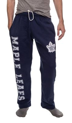 Toronto Maple Leafs Fleece Sweatpants What Team, Gifts For Your Boyfriend, Toronto Maple Leafs, Team Names, Nhl, Sweatpants, Stylish, Athletes, Hockey