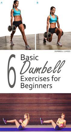 6 Basic Dumbell Exercises for Beginners