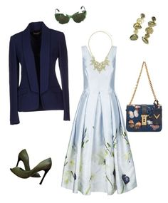 """""""For Tanya"""" by explorer-14659703837 on Polyvore featuring мода, Ted Baker, Sergio Rossi, Kimberly McDonald, BERRICLE, Michael Kors, Dolce&Gabbana и Valentino"""